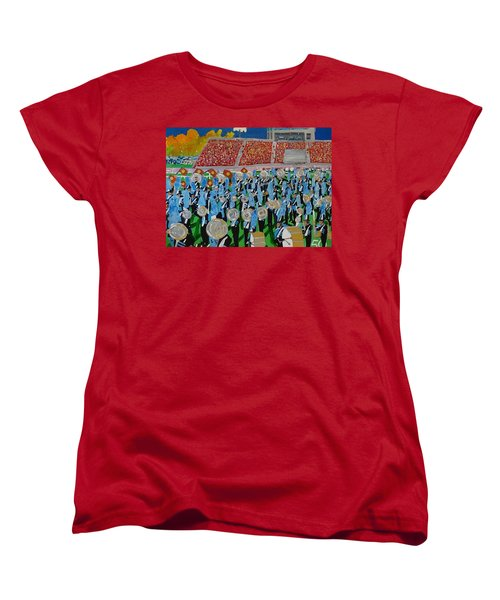 Lincoln Band Women's T-Shirt (Standard Cut) by Rodger Ellingson