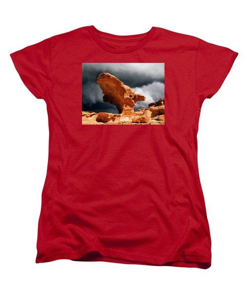 Women's T-Shirt (Standard Cut) featuring the photograph Little Finland Nevada 8 by Bob Christopher