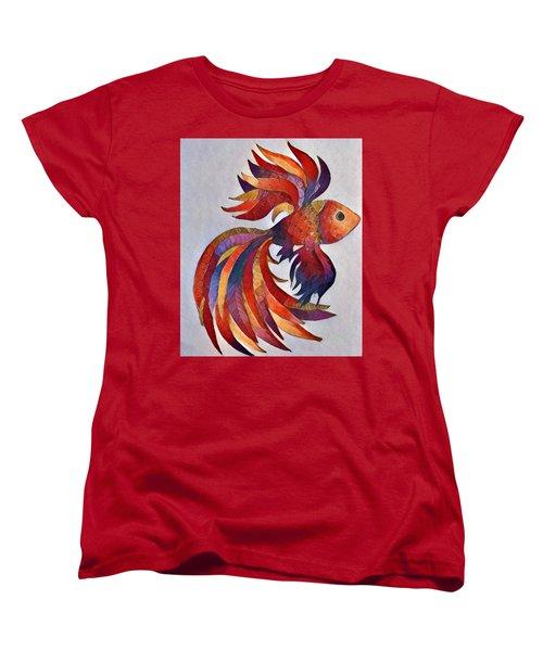 Little Fish Women's T-Shirt (Standard Cut) by Megan Walsh