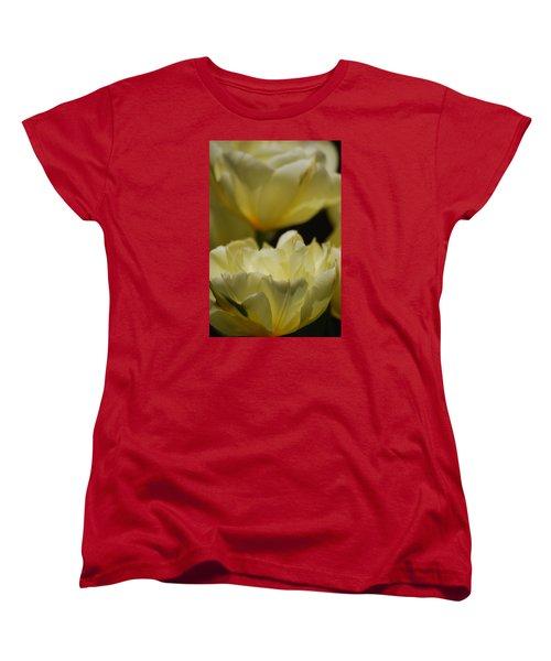 Women's T-Shirt (Standard Cut) featuring the photograph Little Teacups by Ramona Whiteaker