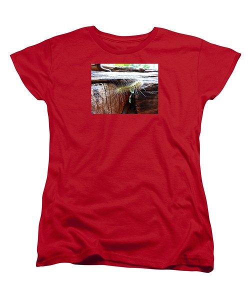 Women's T-Shirt (Standard Cut) featuring the photograph Living In The Moment by Joel Deutsch