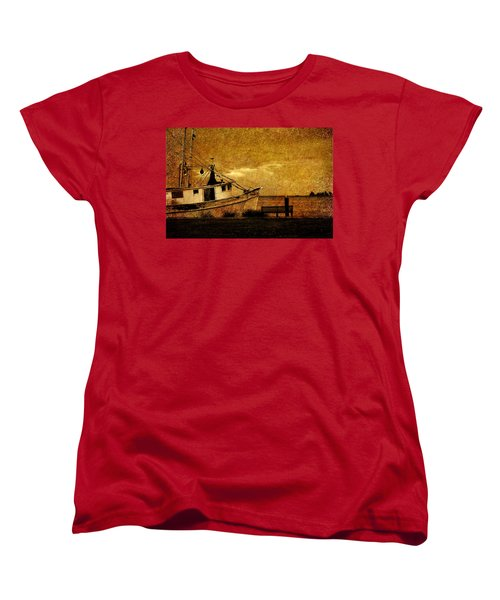 Women's T-Shirt (Standard Cut) featuring the photograph Living In The Past by Susanne Van Hulst