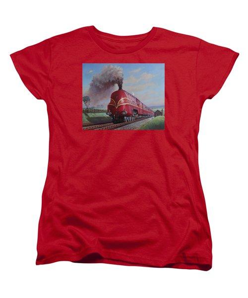Lms Stanier Pacific Women's T-Shirt (Standard Cut) by Mike  Jeffries