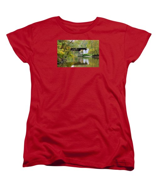 Lock 29 Women's T-Shirt (Standard Cut) by Kristin Elmquist