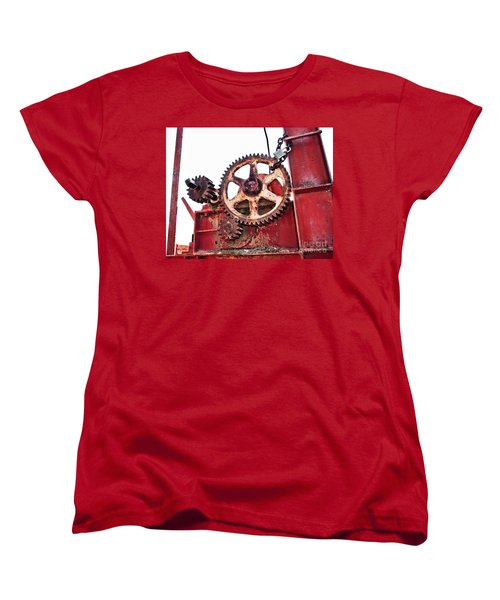Women's T-Shirt (Standard Cut) featuring the photograph Locked In History by Stephen Mitchell