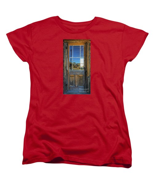 Locked Up Memories Women's T-Shirt (Standard Cut) by Mitch Shindelbower