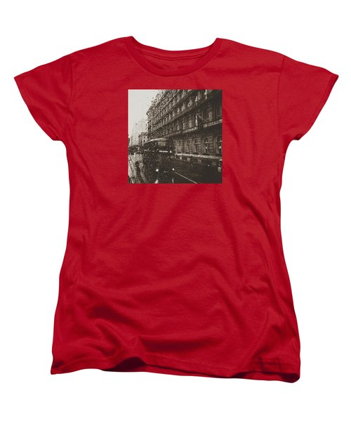 London Rain Women's T-Shirt (Standard Cut)