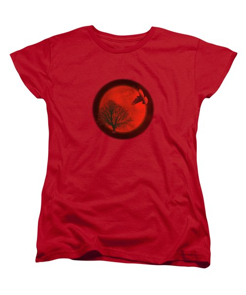 Longing Women's T-Shirt (Standard Cut) by AugenWerk Susann Serfezi