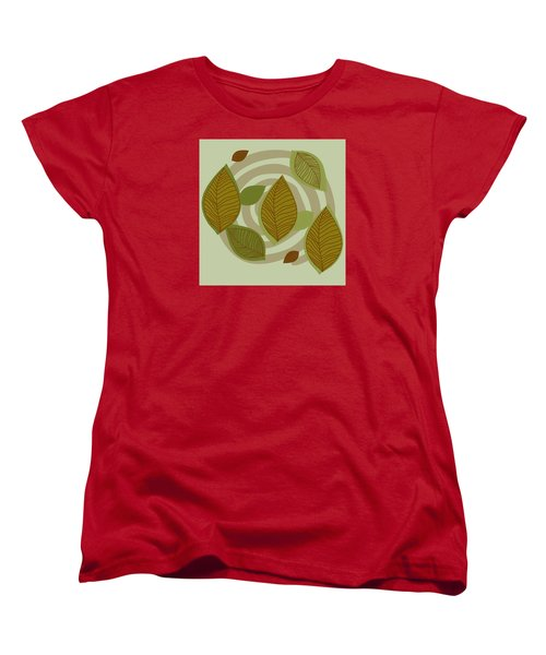 Looking To Fall Women's T-Shirt (Standard Cut) by Kandy Hurley