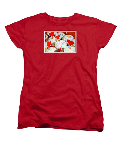 Love Me Women's T-Shirt (Standard Cut) by Mary Timman
