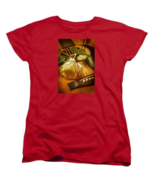 Love Song In The Making Women's T-Shirt (Standard Cut) by Swank Photography