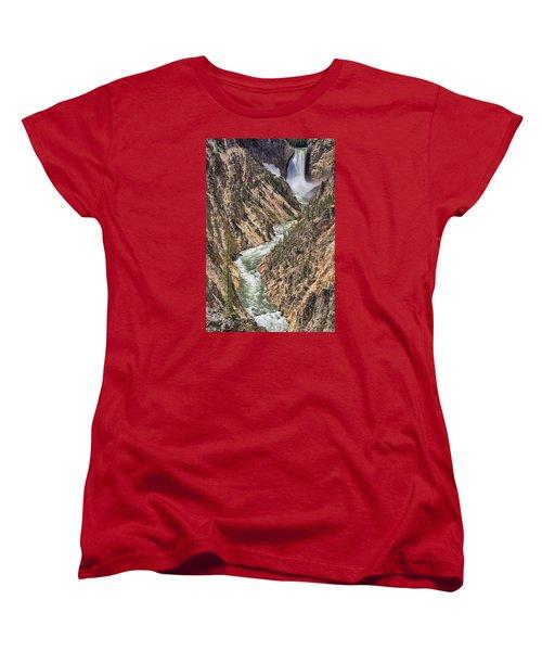Lower Falls Women's T-Shirt (Standard Cut) by John Gilbert