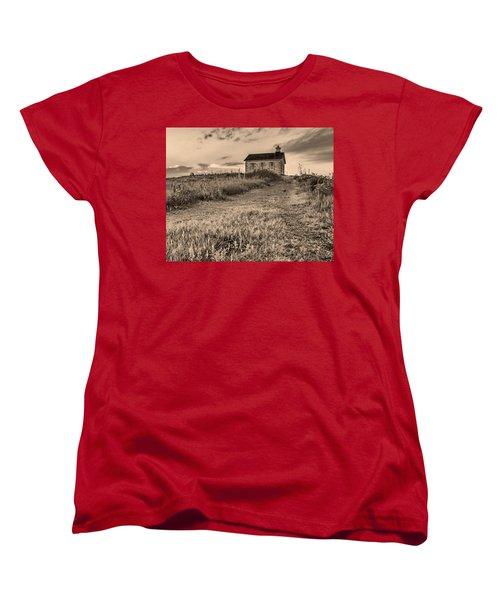Lower Fox Creek School Women's T-Shirt (Standard Cut) by Don Spenner