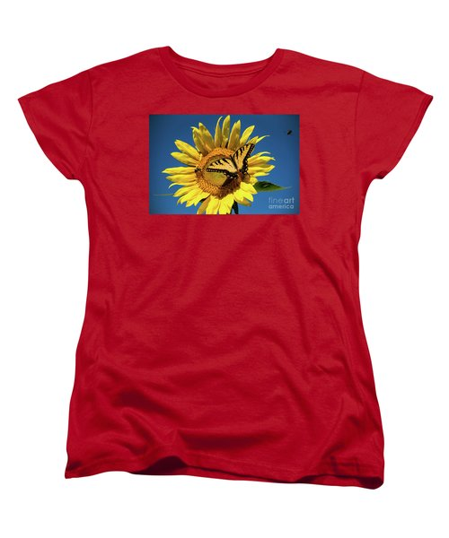 Lunch With Friends Women's T-Shirt (Standard Cut) by Sandy Molinaro