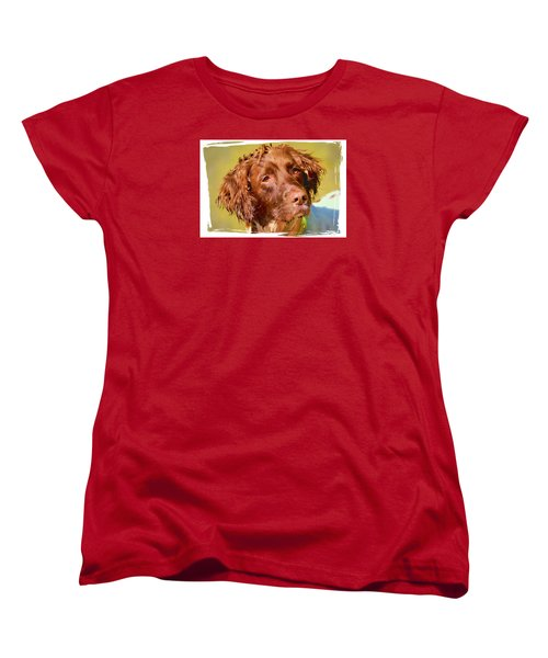 Maggie Head 3 Women's T-Shirt (Standard Cut) by Constantine Gregory