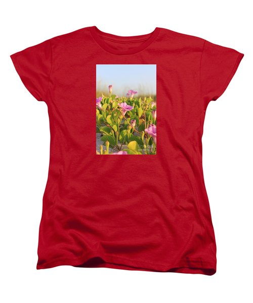 Magic Garden Women's T-Shirt (Standard Cut) by LeeAnn Kendall