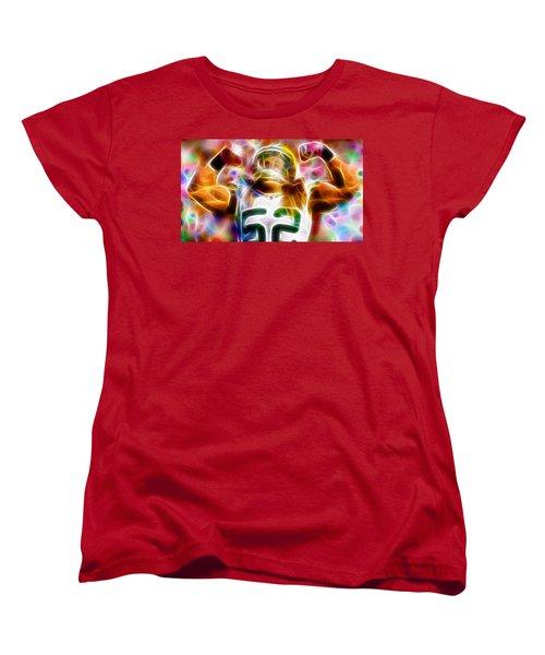 Magical Clay Matthews Women's T-Shirt (Standard Cut) by Paul Van Scott
