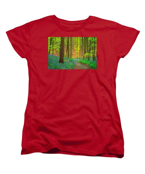 Magical Forest Women's T-Shirt (Standard Cut) by Maciej Markiewicz