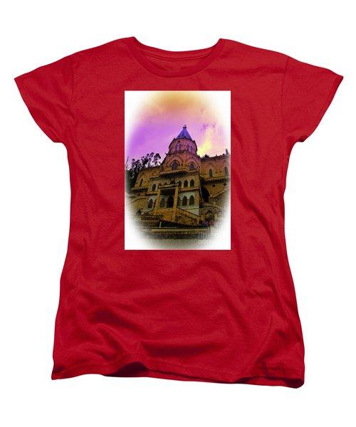 Women's T-Shirt (Standard Cut) featuring the photograph Magnificent Church Of Biblian II by Al Bourassa