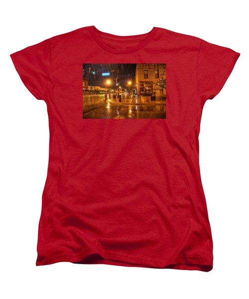Main And Hudson Women's T-Shirt (Standard Cut) by Fiskr Larsen