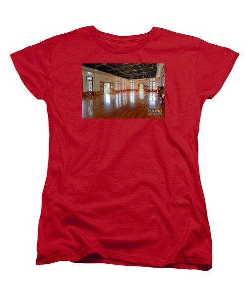 Main Room Of The Wu De Martial Arts Hall Women's T-Shirt (Standard Cut) by Yali Shi
