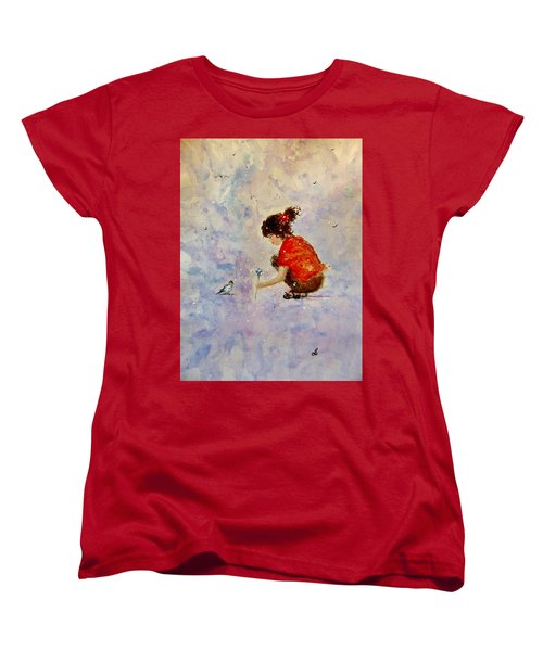 Make A Wish 20 Women's T-Shirt (Standard Cut) by Cristina Mihailescu