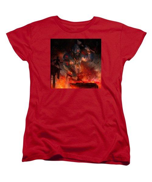 Maker Of The World Women's T-Shirt (Standard Cut) by Ryan Barger