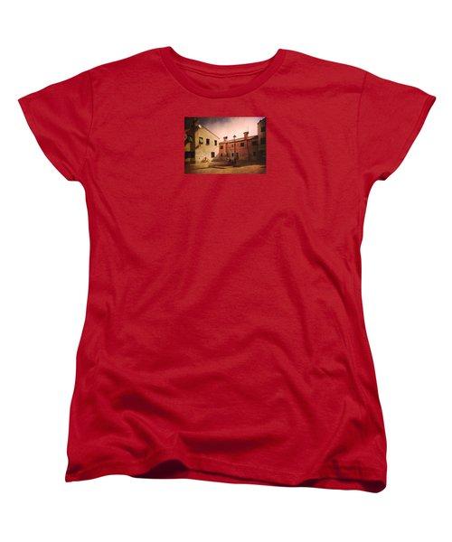 Women's T-Shirt (Standard Cut) featuring the photograph Malamocco Corner No2 by Anne Kotan