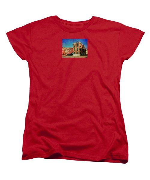 Women's T-Shirt (Standard Cut) featuring the photograph Malamocco Corner No3 by Anne Kotan