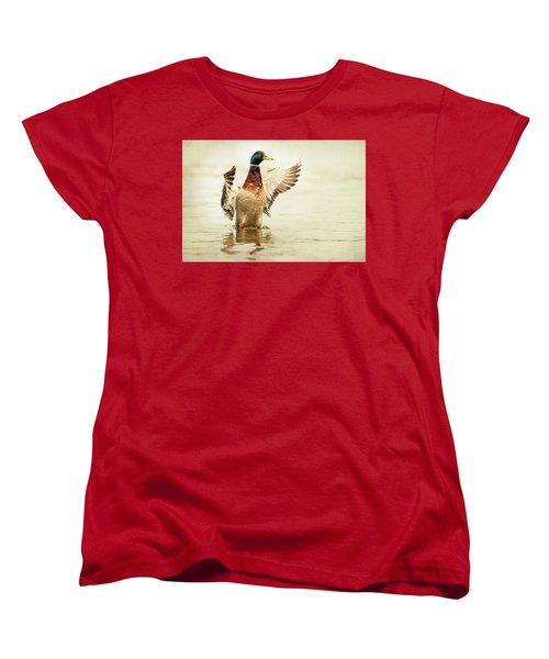 Mallard Women's T-Shirt (Standard Cut) by Everet Regal