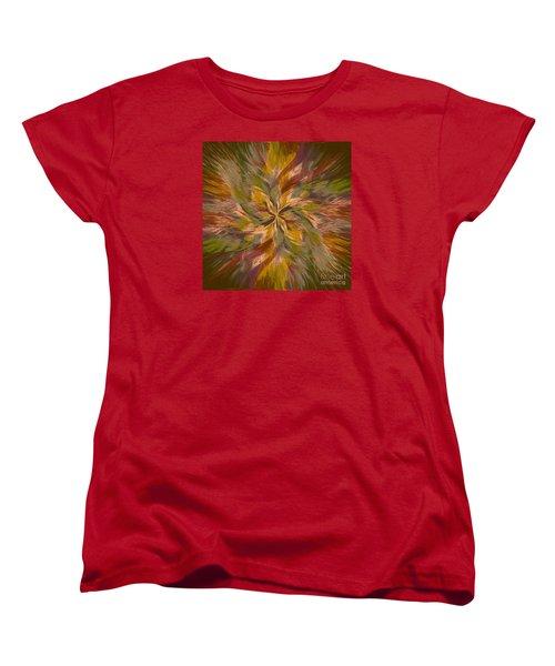 Women's T-Shirt (Standard Cut) featuring the photograph Mandala Twirl 05 by Jack Torcello