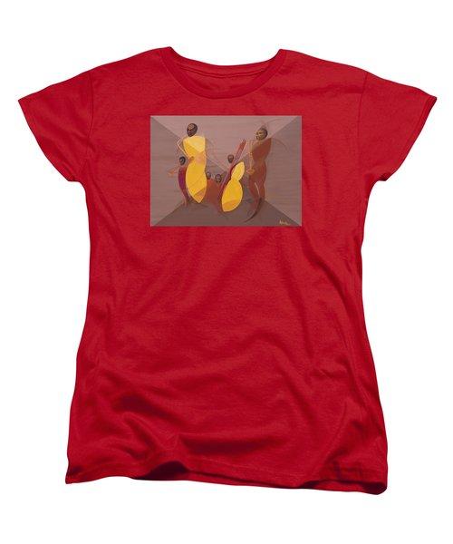 Mango Jazz Women's T-Shirt (Standard Cut) by Kaaria Mucherera