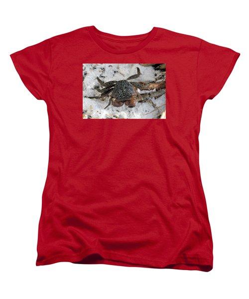 Women's T-Shirt (Standard Cut) featuring the photograph Mangrove Tree Crab by Doris Potter