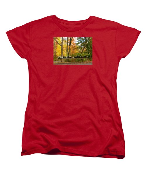 Many Shapes And Sizes Women's T-Shirt (Standard Cut) by Jeanette Oberholtzer