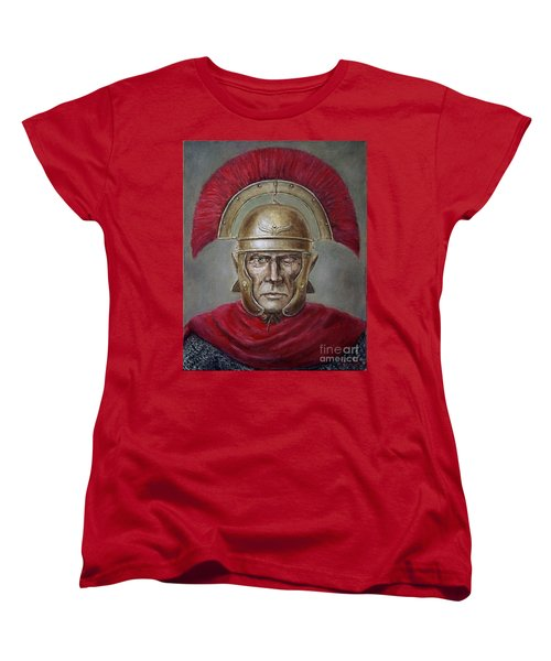 Marcus Cassius Scaeva Women's T-Shirt (Standard Cut) by Arturas Slapsys