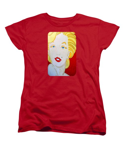Women's T-Shirt (Standard Cut) featuring the photograph Marilyn by Ethna Gillespie