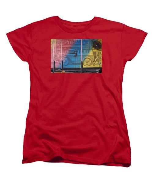 Women's T-Shirt (Standard Cut) featuring the photograph Mariner's Landing by Greg Graham