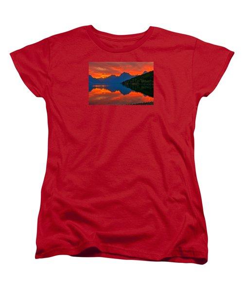 Mcdonald Sunrise Women's T-Shirt (Standard Cut) by Greg Norrell