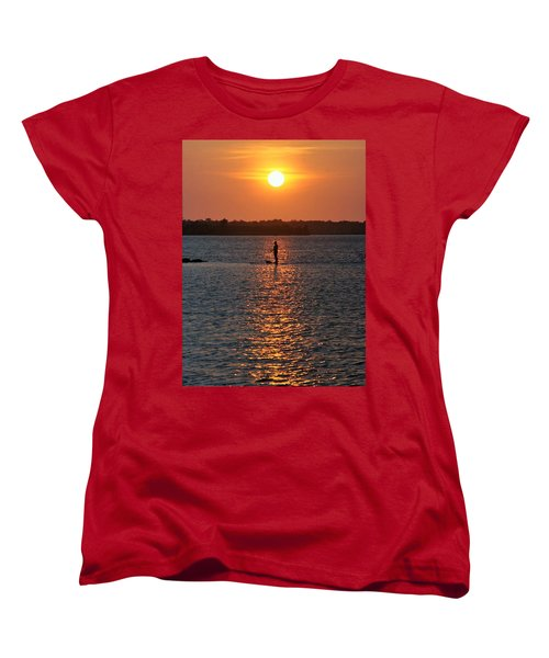 Me Time Women's T-Shirt (Standard Cut) by John Glass