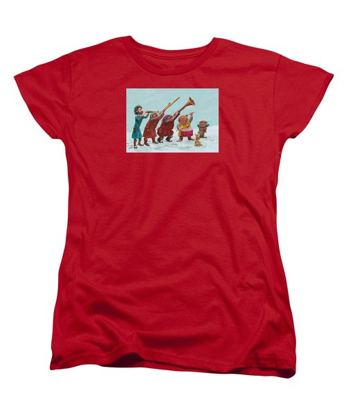 Medieval Merriment Women's T-Shirt (Standard Cut) by Charles Cater