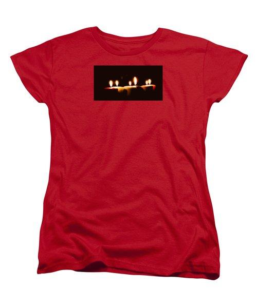Meditation Women's T-Shirt (Standard Cut) by Hyuntae Kim