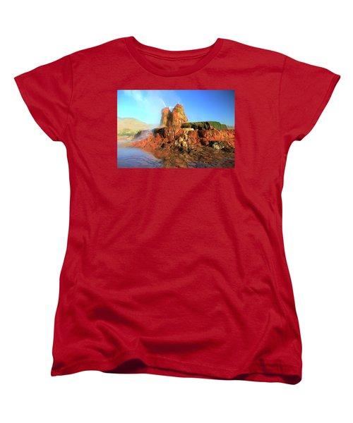 Meet The Fly Geyser Women's T-Shirt (Standard Cut)