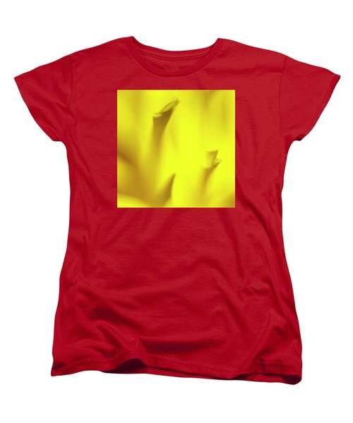 Mellow Yellow Women's T-Shirt (Standard Cut) by Tony Locke