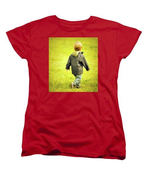 Women's T-Shirt (Standard Cut) featuring the photograph Memories... by Barbara Dudley