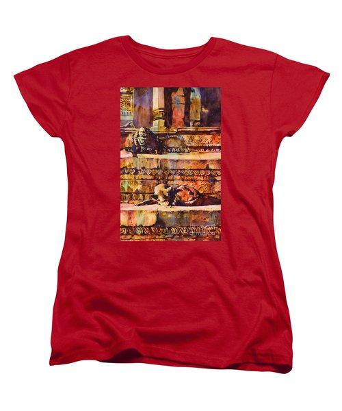 Memories Of Happier Times- Nepal Women's T-Shirt (Standard Cut)