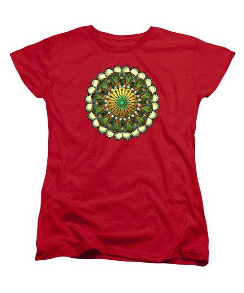 Metallic Mandala Women's T-Shirt (Standard Fit)