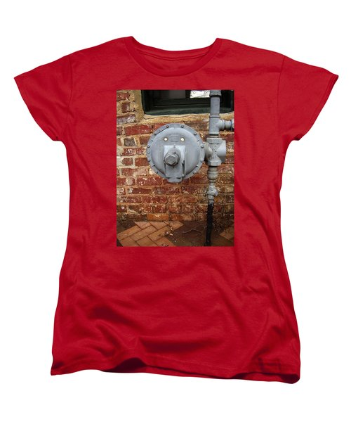 Meter In Athens Ga Women's T-Shirt (Standard Cut) by Flavia Westerwelle