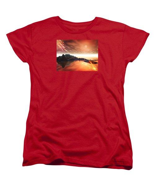 Meteroite Women's T-Shirt (Standard Cut) by Jacqueline Lloyd