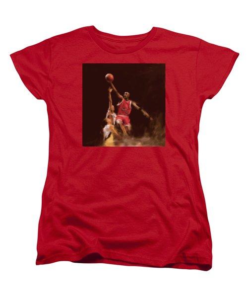 Michael Jordan 548 2 Women's T-Shirt (Standard Cut) by Mawra Tahreem