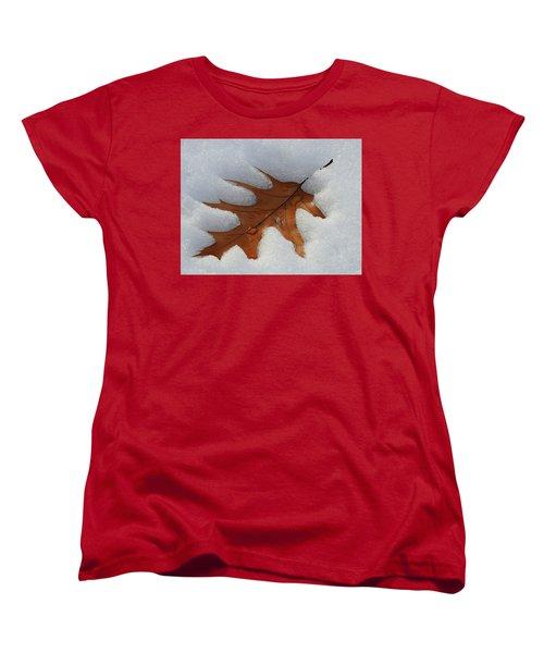 Mighty Oak Women's T-Shirt (Standard Cut) by Betty-Anne McDonald